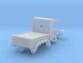 C-Cab 2-Axle Flatbed Hotrod - T-Jet in Smooth Fine Detail Plastic