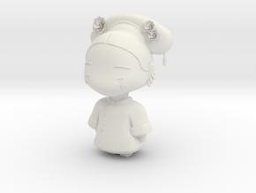 China Empire Prince Doll in White Natural Versatile Plastic