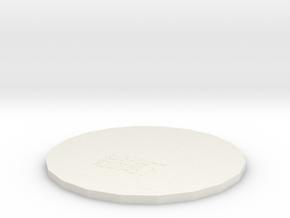 Insulation pads in White Natural Versatile Plastic