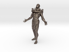 The New King in Polished Bronzed-Silver Steel