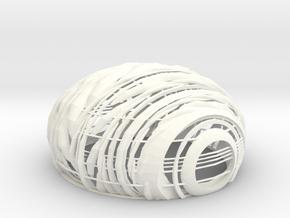 lamp cover in White Processed Versatile Plastic