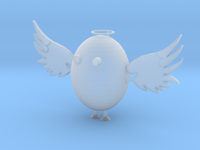 Angel Egg in Smooth Fine Detail Plastic