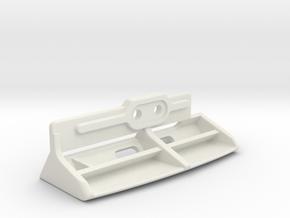 Pour Pod PN racing v3 94-98mm in White Natural Versatile Plastic