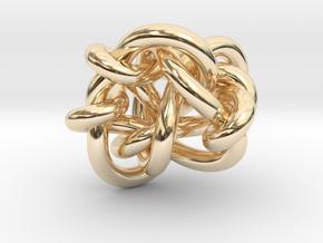 B&G tangle 03 in 14K Yellow Gold