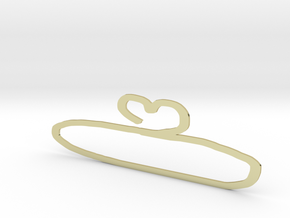 hanger in 18K Yellow Gold: Small