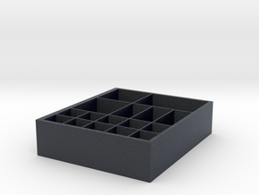 Storage box in Black PA12