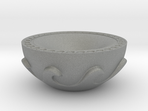 Meander Bowl in Gray PA12