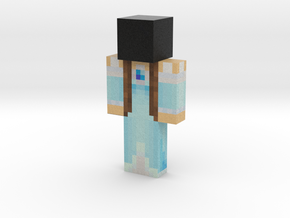 Ice-Princess | Minecraft toy in Natural Full Color Sandstone
