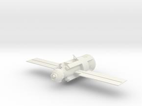 Russian ROSCOSMOS ISS Zarya Module 1/144 or 1/200 in White Natural Versatile Plastic: 1:144
