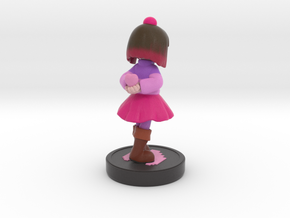 Glitchtale betty v2 in Matte Full Color Sandstone