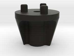 Emek/Etha 2 Bolt Cap - YINYANG in Black Natural Versatile Plastic