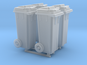 Kliko garbage can - 1:50 - 4X in Smoothest Fine Detail Plastic