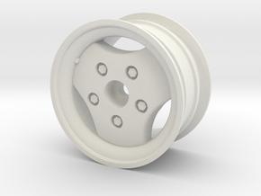 Range Rover Classic 1.9 Wheel in White Natural Versatile Plastic