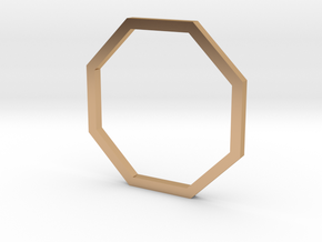 Octagon 14.86mm in Polished Bronze