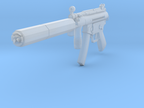 1/10th MP5Ktactical3 in Smoothest Fine Detail Plastic