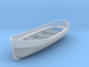 HO Scale 20' lifeboat in Smoothest Fine Detail Plastic