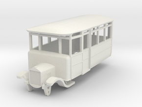 o-100-derwent-railway-ford-railcar in White Natural Versatile Plastic