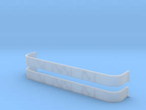 1/96 USN South Dakota 20mm tub4 Set in Smooth Fine Detail Plastic