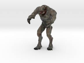 Hell knight - Doom  3 inch in Natural Full Color Sandstone