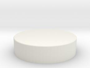 Eco-friendly plate in White Natural Versatile Plastic