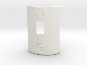 """""""HIP Flask"""" DNA 250c Dual 2x700 Squonker  in White Natural Versatile Plastic"""