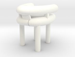 chair in White Processed Versatile Plastic: Large