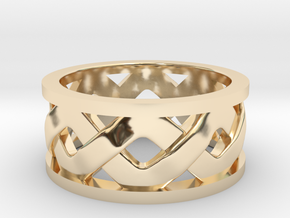 Knotwork Ring in 14K Yellow Gold: 10.5 / 62.75