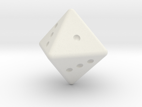 D8 dice request in White Natural Versatile Plastic