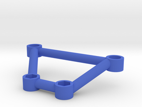 Thundershot Support Brace for 6mm Body Mount Posts in Blue Processed Versatile Plastic