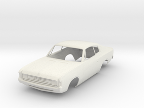 1:24 Valiant VH Charger in White Natural Versatile Plastic