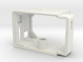 PocketGroundstation - Case in White Natural Versatile Plastic