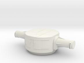 1/30 IJN Akagi Top Tower Rangefinders in White Natural Versatile Plastic
