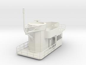 1/30 IJN Akagi Tower part 2 in White Natural Versatile Plastic