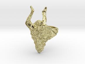 Krampus ring in 18K Yellow Gold: 6 / 51.5