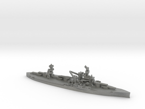 US Wyoming-Class Battleship in Gray Professional Plastic