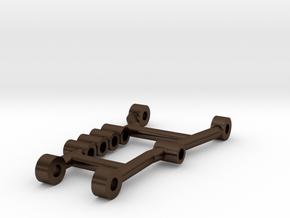 Tamiya Thundershot Tubular Steel Arm in Polished Bronze Steel