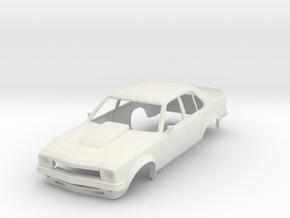 1:24 Holden Torana SLR5000 4 Door in White Natural Versatile Plastic