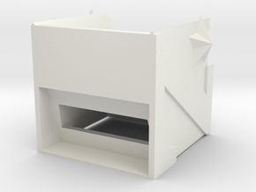 Function shelf in White Natural Versatile Plastic: Medium