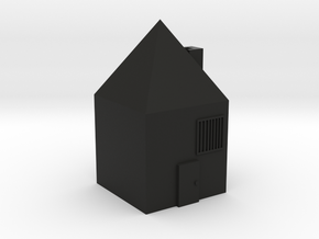 house in Black Natural Versatile Plastic