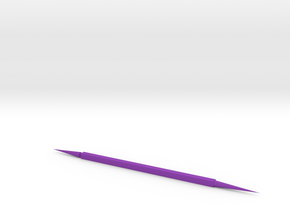 Green Toothpick in Purple Processed Versatile Plastic: Small