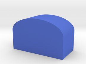 Roof Pencil Box in Blue Processed Versatile Plastic: Small