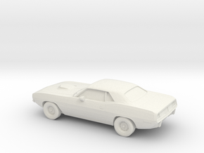 1/87 1971 Plymouth Baracuda in White Natural Versatile Plastic