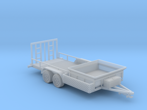 Dump Trailer Long 1-64 Scale in Smooth Fine Detail Plastic