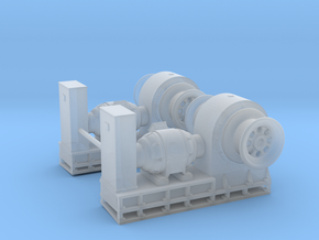 1/72 USN Boat Winches in Smooth Fine Detail Plastic