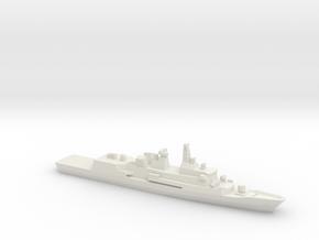 Anzac-class frigate (2006), 1/1800 in White Natural Versatile Plastic