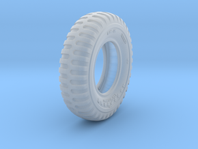 1/16 900x20 M35 Tire Sample Set07 in Smooth Fine Detail Plastic