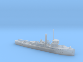 1/1200th scale polish gunboat General Galler in Smooth Fine Detail Plastic