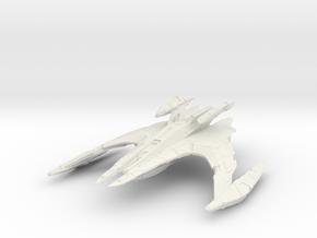 "Jem'Hadar Battlecruiser  12"" in White Natural Versatile Plastic"
