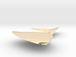 Leaf decoration in 14K Yellow Gold: Small