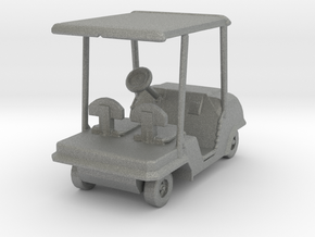 S Scale Golf Cart in Gray PA12